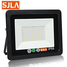 SJLA Waterproof Outdoor Wall Garden Spot Refletor Exterior Security Foco Lamp 110V 220V 10W 30W 50W 100W 200W Led Flood Light dc 12v 10w 20w 30w 50w led floodlight outdoor spotlight spot flood light lamp rgb refletor led foco exterior projecteur