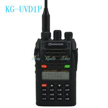 walkie talkie transceiver WOUXUN KG-UVD1P handheld cb radio Comunicador dual band dual display two way radio