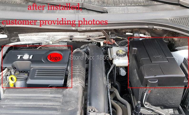 for 2016 2017 2018 VW Tiguan mk2 1 4TSI engine cover caps Bonnet Cap font b