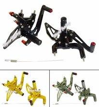 Мотоцикл С ЧПУ Регулируемый Райдер Задняя Устанавливает Rearset Подножка для Ног Колышки Для DUCATI 1299 Panigale/S 2015-2016