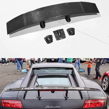 Carbon Fiber Car Rear Wing Trunk Lip Spoilers For Lamborghini Gallardo LP540/LP550/LP560 2007-2014
