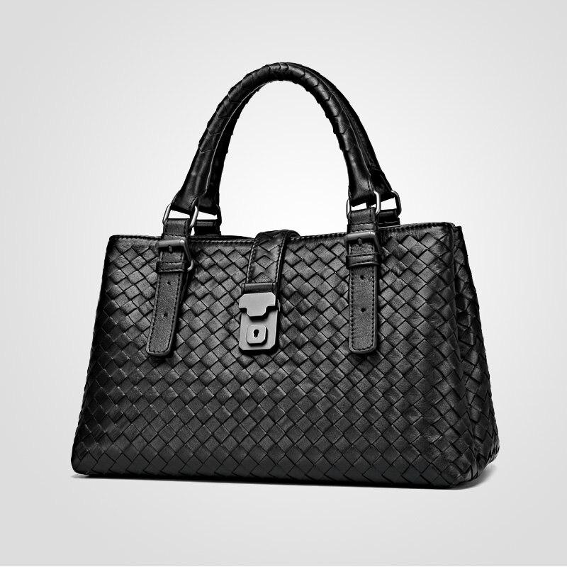 กระเป๋าถือหรูผู้หญิงออกแบบกระเป๋าขนาดใหญ่ความจุกระเป๋าภายในและกระเป๋าซิปกระเป๋าสตางค์แฟชั่น-ใน กระเป๋าหูหิ้วด้านบน จาก สัมภาระและกระเป๋า บน   2