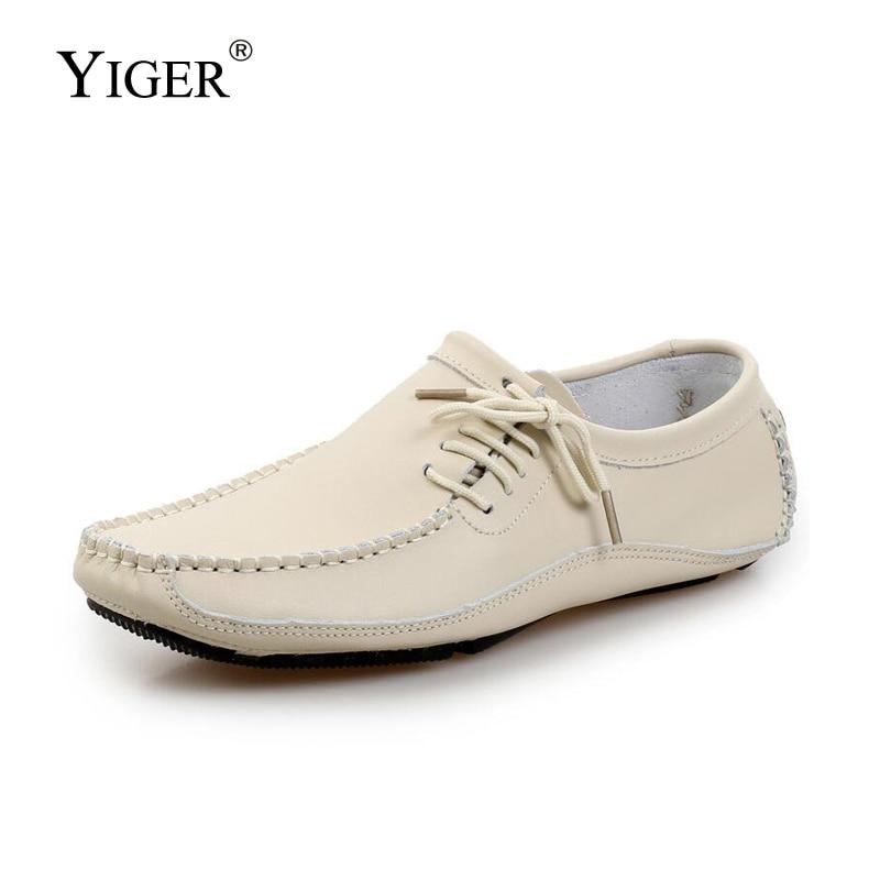 YIGER NEW Hombres zapatos de gran tamaño de los guisantes Mocasines - Zapatos de hombre - foto 1