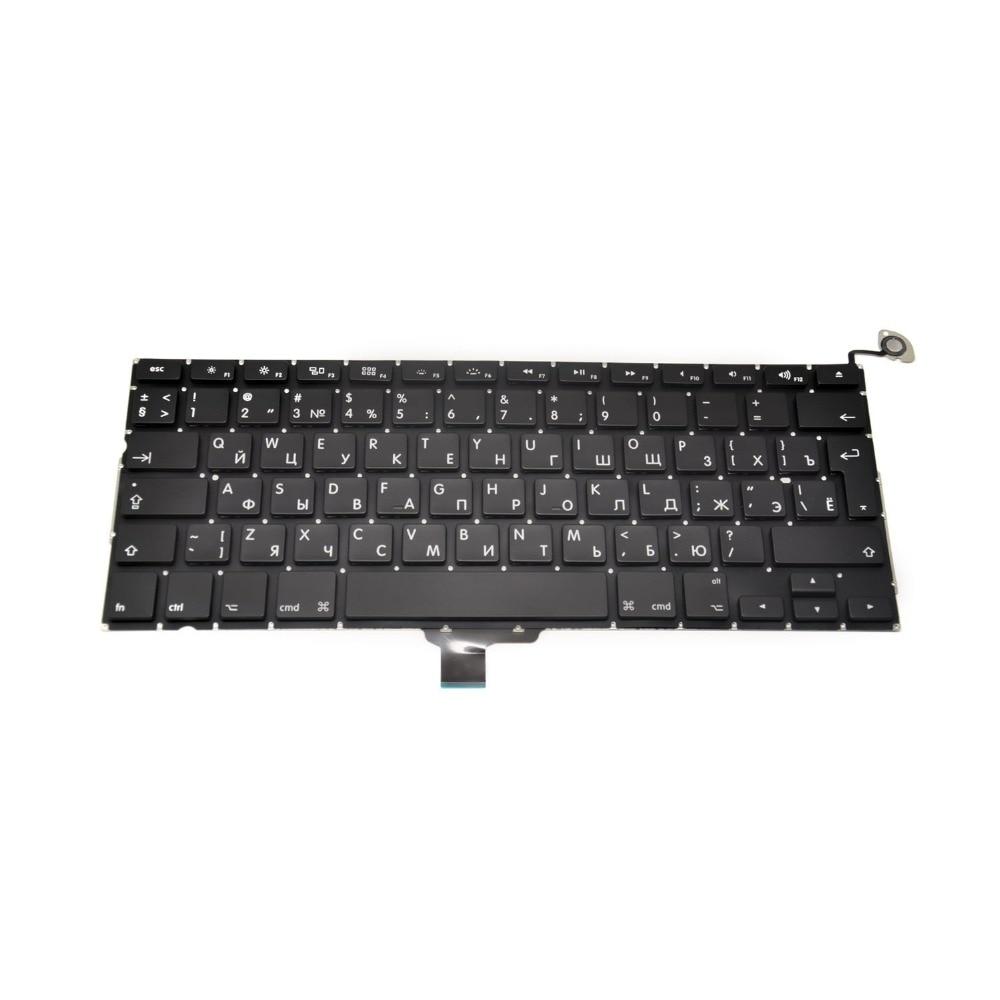 Original New A1278 Russian Keyboard for font b Macbook b font Pro 13 keyboard 2008 2012