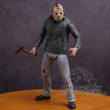 NECA Jason Voorhees Friday the 13th Part 3 3D PVC Action Figure Collectible Modelo Toy 18 cm(China)