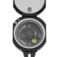 Plastic Lightweight Transit Pocket Geological Compass Mini Surveyors Mining Engineers Compass With 0 360 Degree Scale