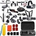 Free Shipping Go pro Accessories kit for gopro  hero 5 5S hero 4 M20  EKEN H9R xiaomi yi accessories sjcam Accessories GS48