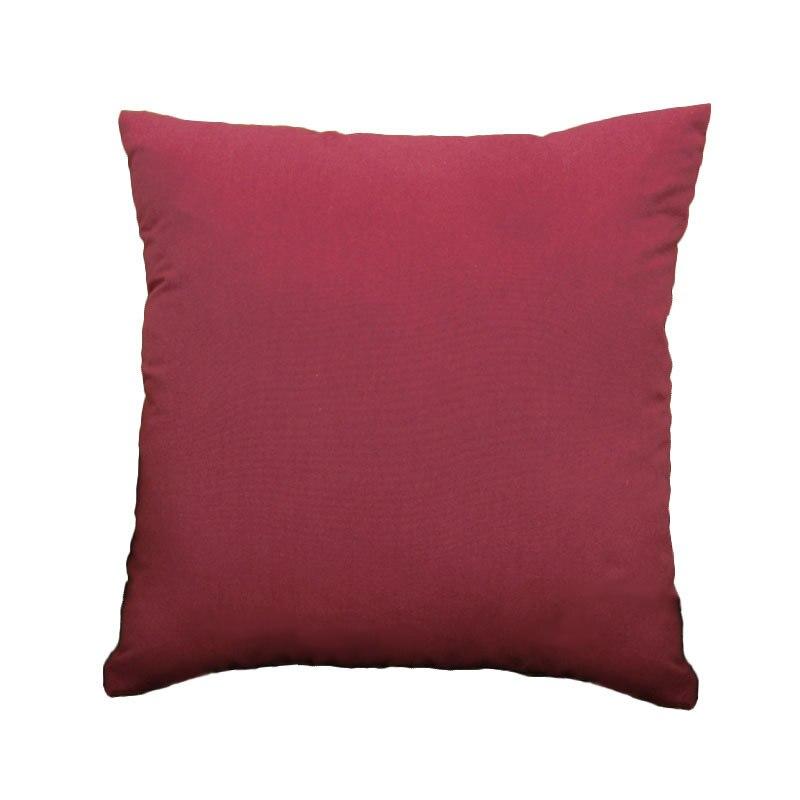 2016 simplicit gnreux solide couleur 45 cm belle carr coussin de bonbons couleurs dcoration de la - Coussin Color Pas Cher