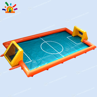 Free Shipping Inflatable Football Pitch Inflatable Arena Inflatable Football Field With Floor