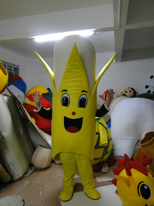 Venda direta da fábrica Venda Quente Personalizado especial de banana traje da mascote Tamanho Adulto - 2