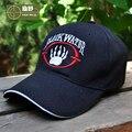 ХАН ДИКИЙ Американский Blackwater Шляпы Мужские Бейсболки Закрытое Snapback Открытый Путешествие Туризм Бейсболка Письмо Черный Армии Крышка