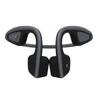 Yeni Çok Fonksiyonlu Katı Renk Boyun Style Kulaklık Kulaklık arkasında Kablosuz Kemik Iletim Bluetooth için Açık Spor