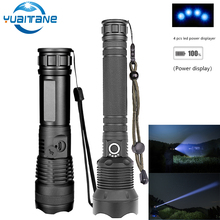 80000LM Most Powerful LED Flashlight XHP70 XHP50 Rechargeable USB Zoom Torch XHP70.2 18650 26650 Self Defense Hunting Lamp