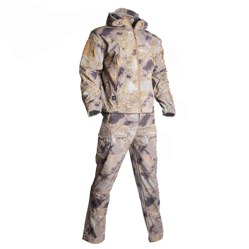 Softshell tático tad define men jacket +