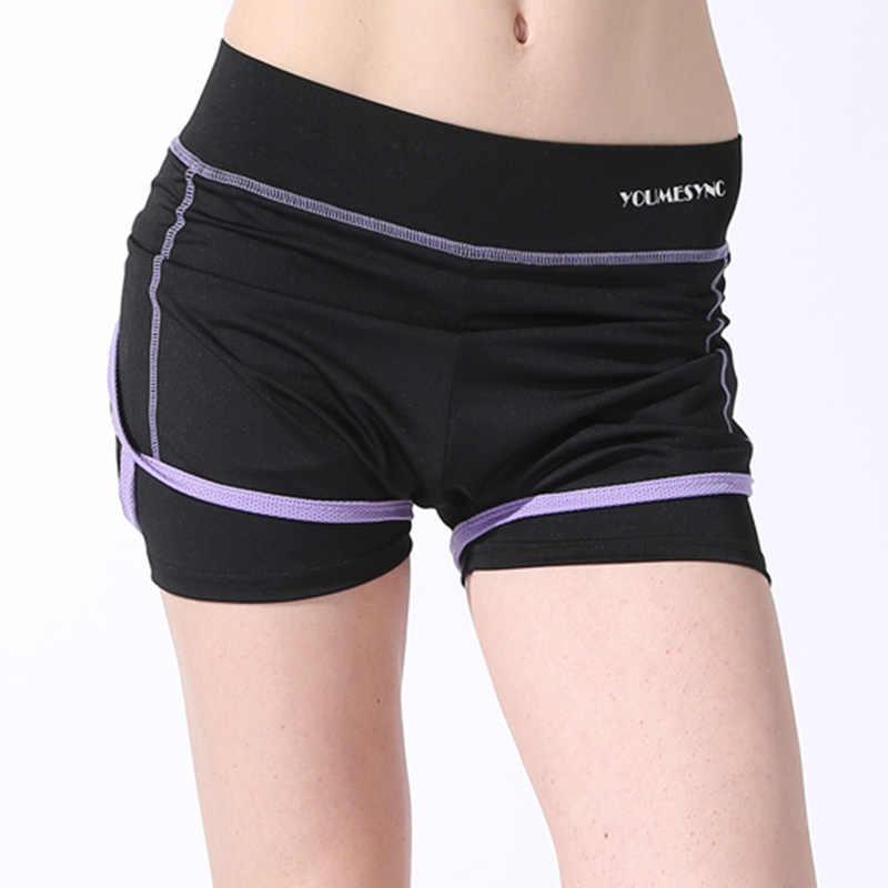 CUFFLLE kobiety sportowe spodenki do biegania elastyczna talia kobieta szybkie suche szorty fitness joga kobiece krótkie spodnie
