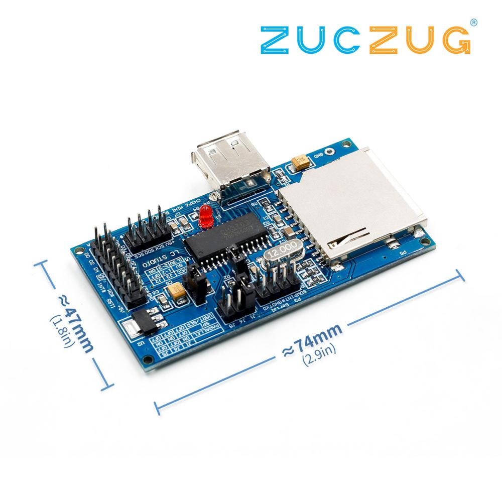 1 pièces IC CH376 CH376S Original carte d'évaluation de carte de développement USB authenticCH376