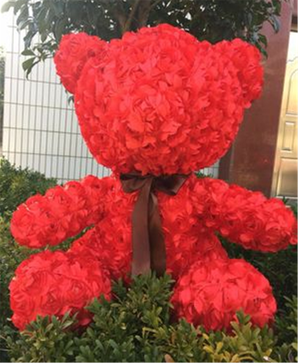 Fancytrader Red Rose Teddy Bear Toy Nice Quality Big Bear Teddy Doll 70cm 28inch for Kids Adults Gifts3
