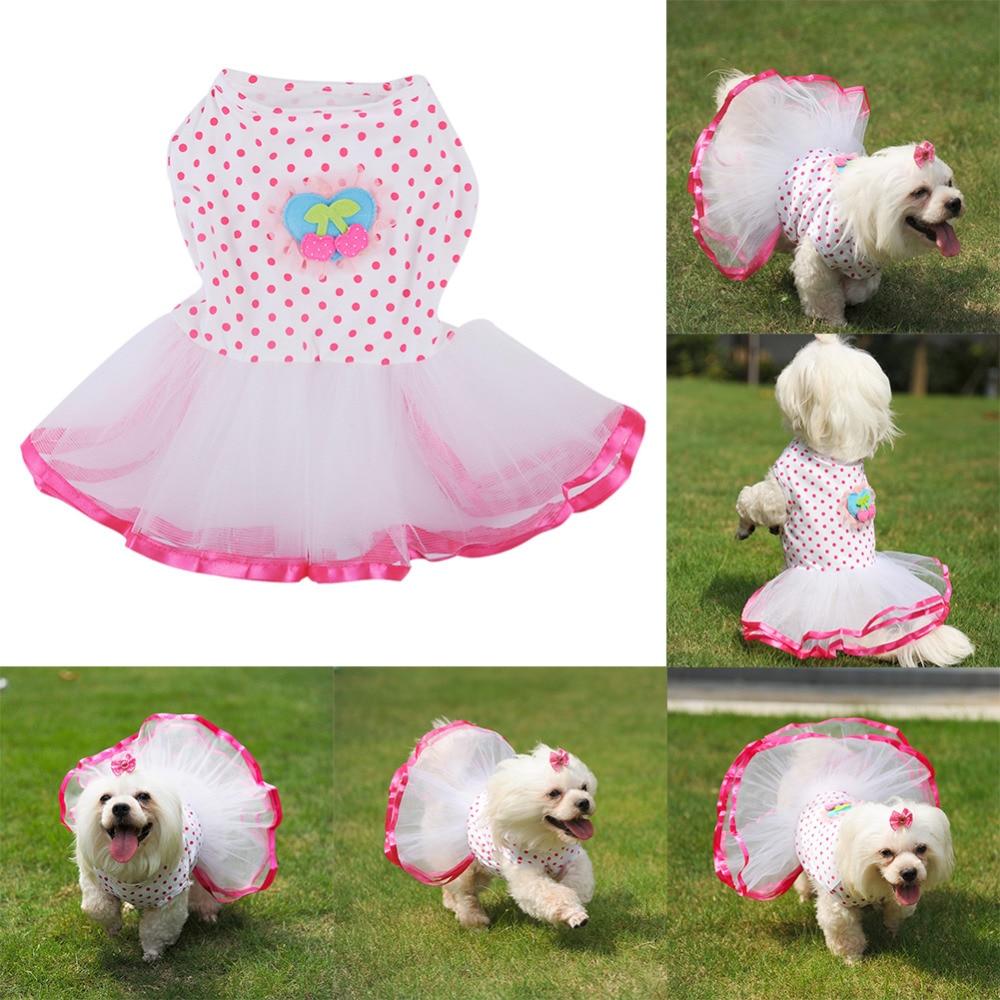 Kleidung Für Hunde Hund Kleid Haustiere Hund Kleidung Sommer Kleider ...