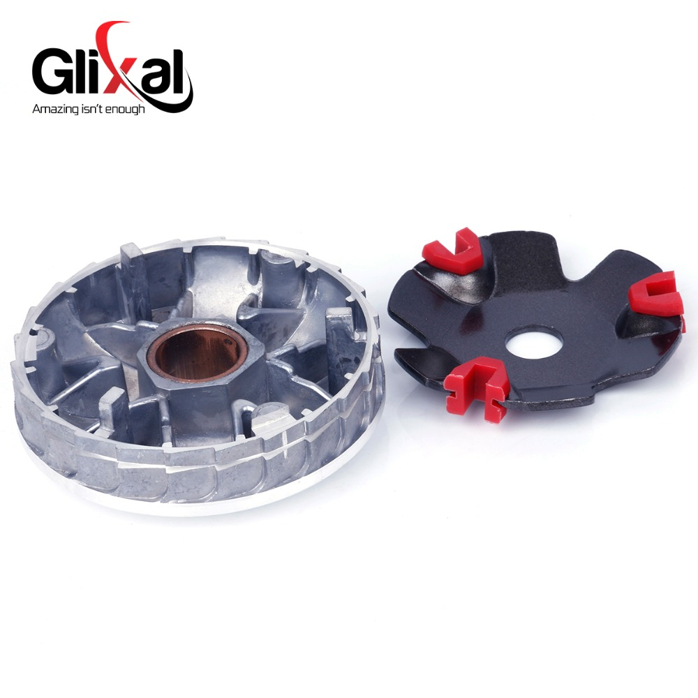 High Performance DLH Variator Kit with Roller Weights Drive Pulley for GY6  50cc 139QMB 139QMA Dio 50cc Scooter Moped ATV