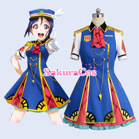 LoveLive SunShine Aqours 3rd Single HAPPY PARTY TRAIN Kanan Matsuura Custom Made Anime Cosplay Custume Dress