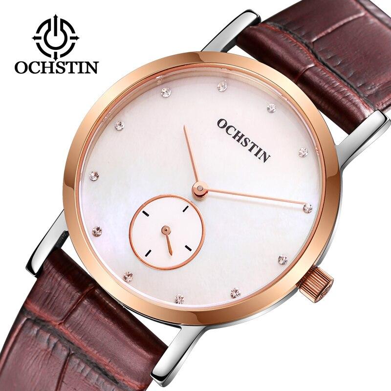 Marca de Luxo Relógio de Senhoras Amantes para Mulheres Relógio de Pulso Ochstin Mulheres Relógios Homens Moda Quartzo Relógio Masculino Feminino 2020