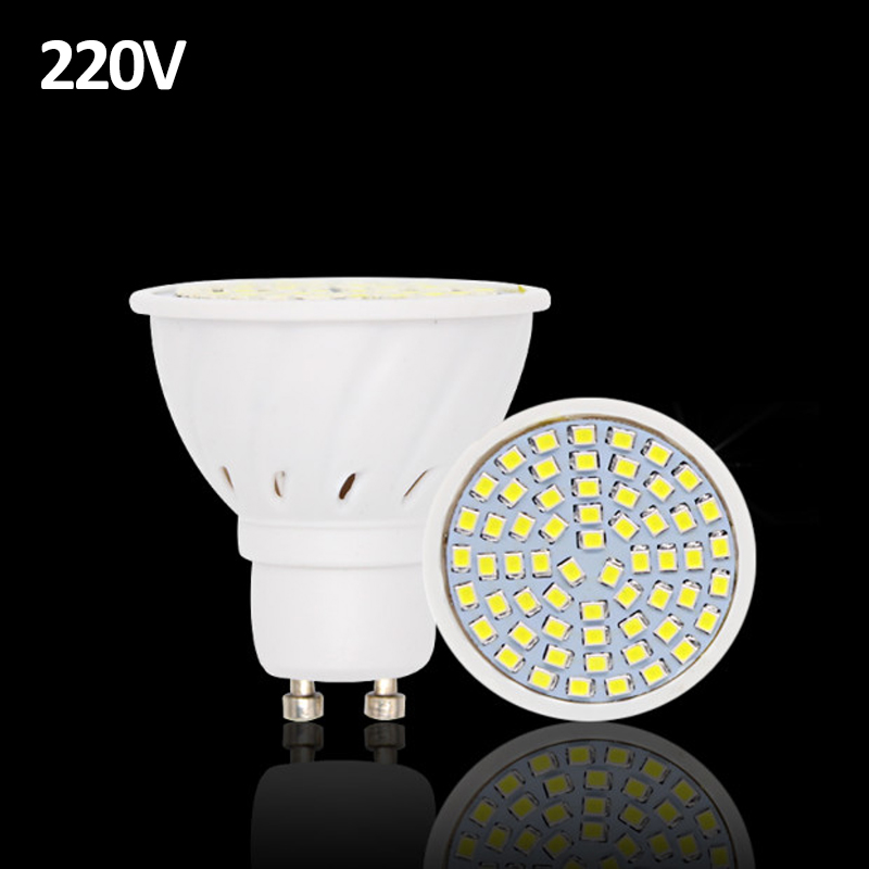 20pcs lampada led lamp gu10 220v luz de 2835 ampoule led bulb e27 spot lamparas bombillas led. Black Bedroom Furniture Sets. Home Design Ideas