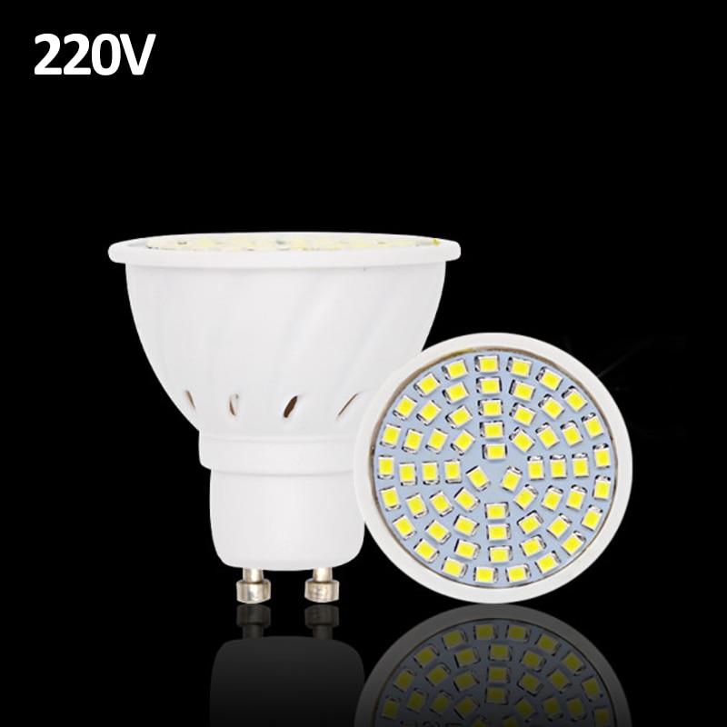 20pcs lampada led lamp gu10 220v luz de 2835 ampoule led bulb e27 spot lamparas bombillas led. Black Bedroom Furniture Sets. Home Design Ideas