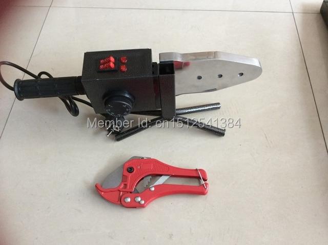 Máquina de soldadura de tubos de tubos PPR de doble temperatura - Equipos de soldadura - foto 4