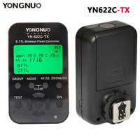 YONGNUO YN 622C TX Transmitter LCD Wireless ETTL Flash Controller Trigger For Canon 5D 5DII 5DIII