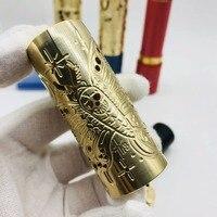 Pandora mod Blue Black Red Mech Mod for 20700/21700/18650 Battery 510 thread brass mechanical box mod