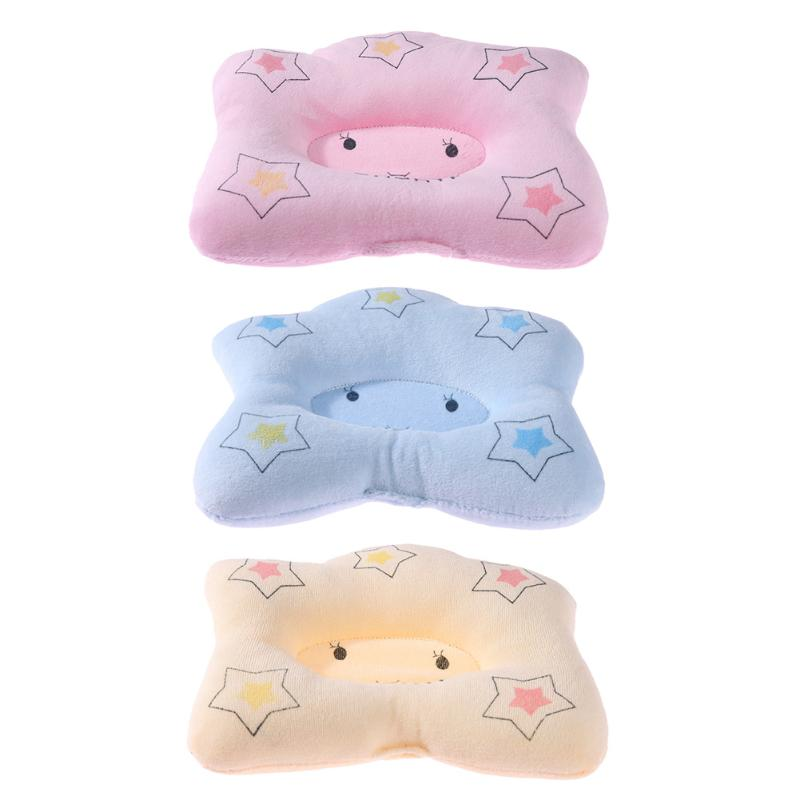 Cartoon Stars Sleep Newborn Infant Pillow Neck Protection Baby Care Pillow Soft Breast-Feeding Nursing Pillow For Baby Sleeping
