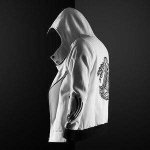 Image 2 - ZOGAA Gothic Hoodie streetwear 2019 ใหม่ hoodies ผู้ชาย Casual แฟชั่นสีดำ hoodie 5 สีพลัสขนาด S 4XL Assassin Men hoodies