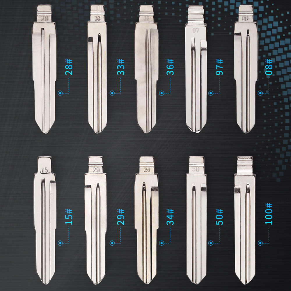 KEYYOU для Hyundai Tucson Accent Getz Matri Sonata Santa fe Kia HYN14RFH KD флип-ключ Blade 08 #15 #28 #29 #36 #50 #97 #33 #34 #