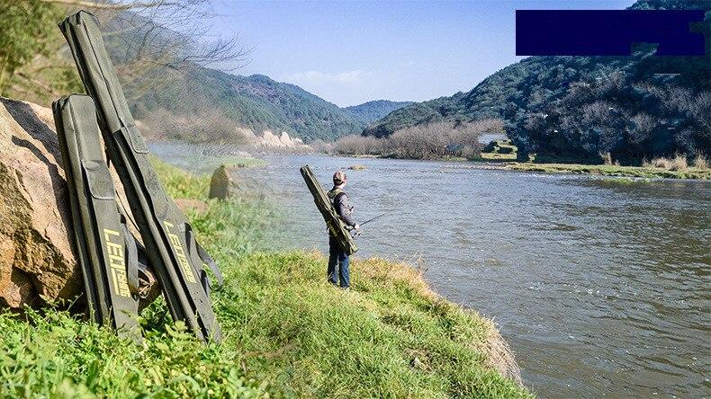 de engrenagem pesca dobrável lona vara de