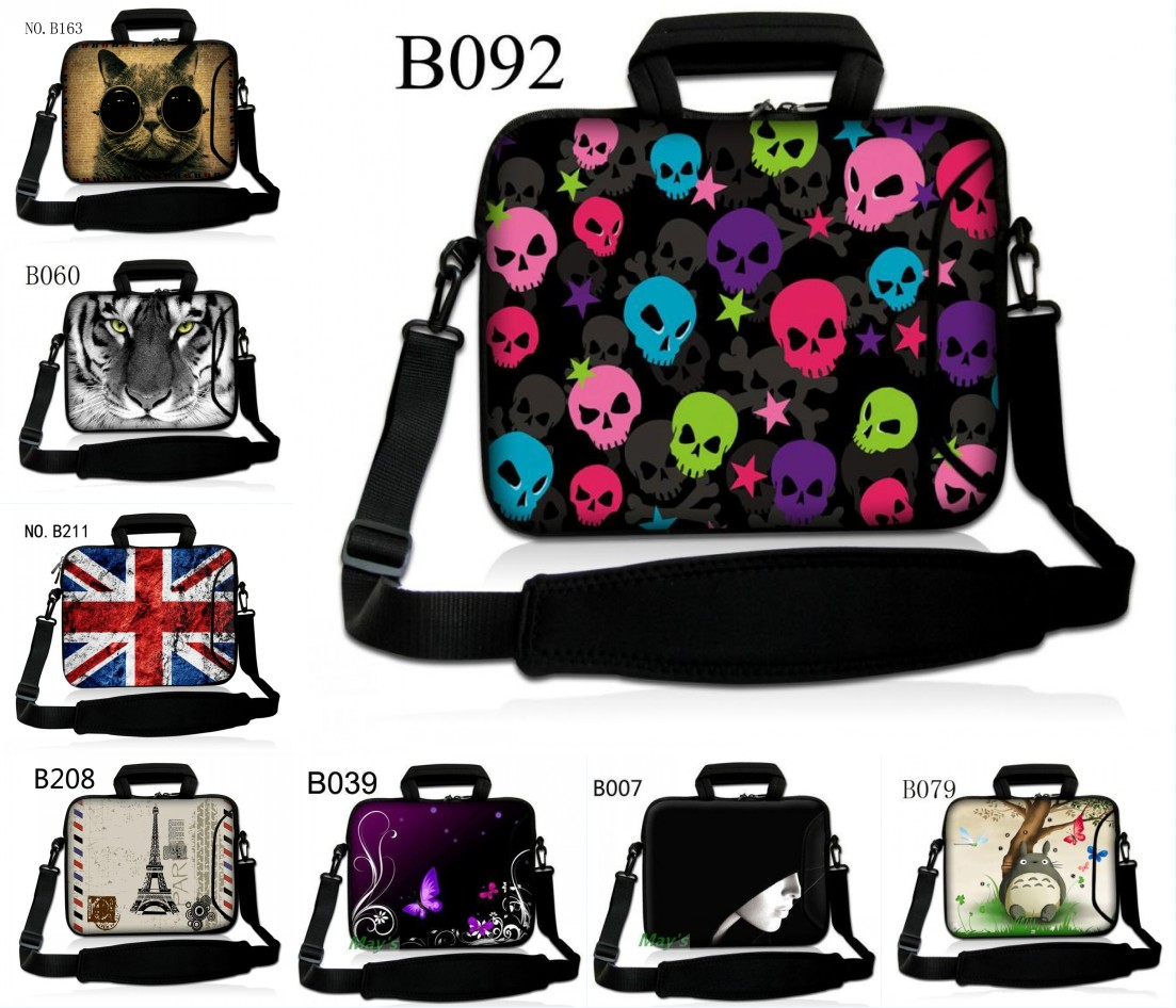Fashion 11.6/13.3/14.1/15.4/17.1/17.3 inch Laptop Bag Messenger Bag Business Waterproof Laptop shoulder bag for man&woman