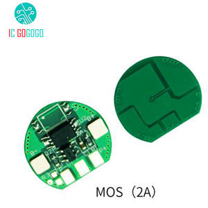 Single MOS 2A 18650 Battery Protection Board 3.7 V Lithium Polymer High Current Charge
