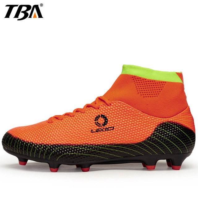 TBA Student Boys and Girls Soccer Shoes For Women Turf Football Cleats  Sports Man Brand Breathable 396e201859