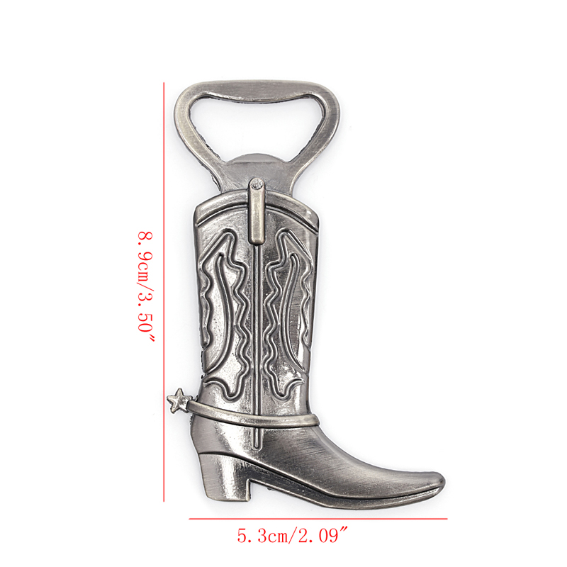 Bottle Opener Hitched Cowboy Boot Western Birthday Wedding Favor Party Cute Tool-W110