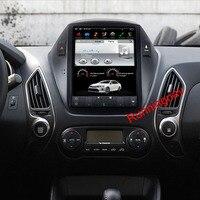 10.4 Tesla Type Android Fit HYUNDAI TUCSON IX35 2009 2010 2011 2012 2013 2014 Car DVD Player Navigation GPS Radio