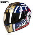 Isle of Man Motorcycle Helmet Racing Full Face Helmet B500C Moto Casque Casco motocicleta Capacete Kask helmets Chrome Visor ECE