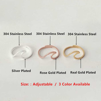 V Attract Stainless Steel Jewelry Accessries Rose Gold Anel Fashion Wedding Gift 1