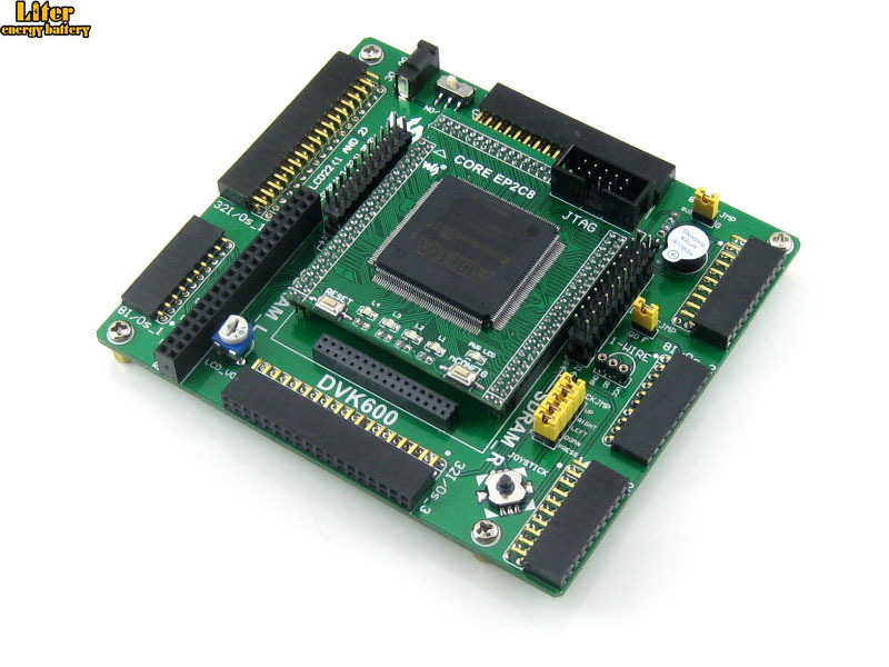Altera Cyclone Board EP2C8Q208C8N EP2C8 ALTERA Cyclone II FPGA Development Evaluation Board Kit All I/Os=OpenEP2C8-C Standard