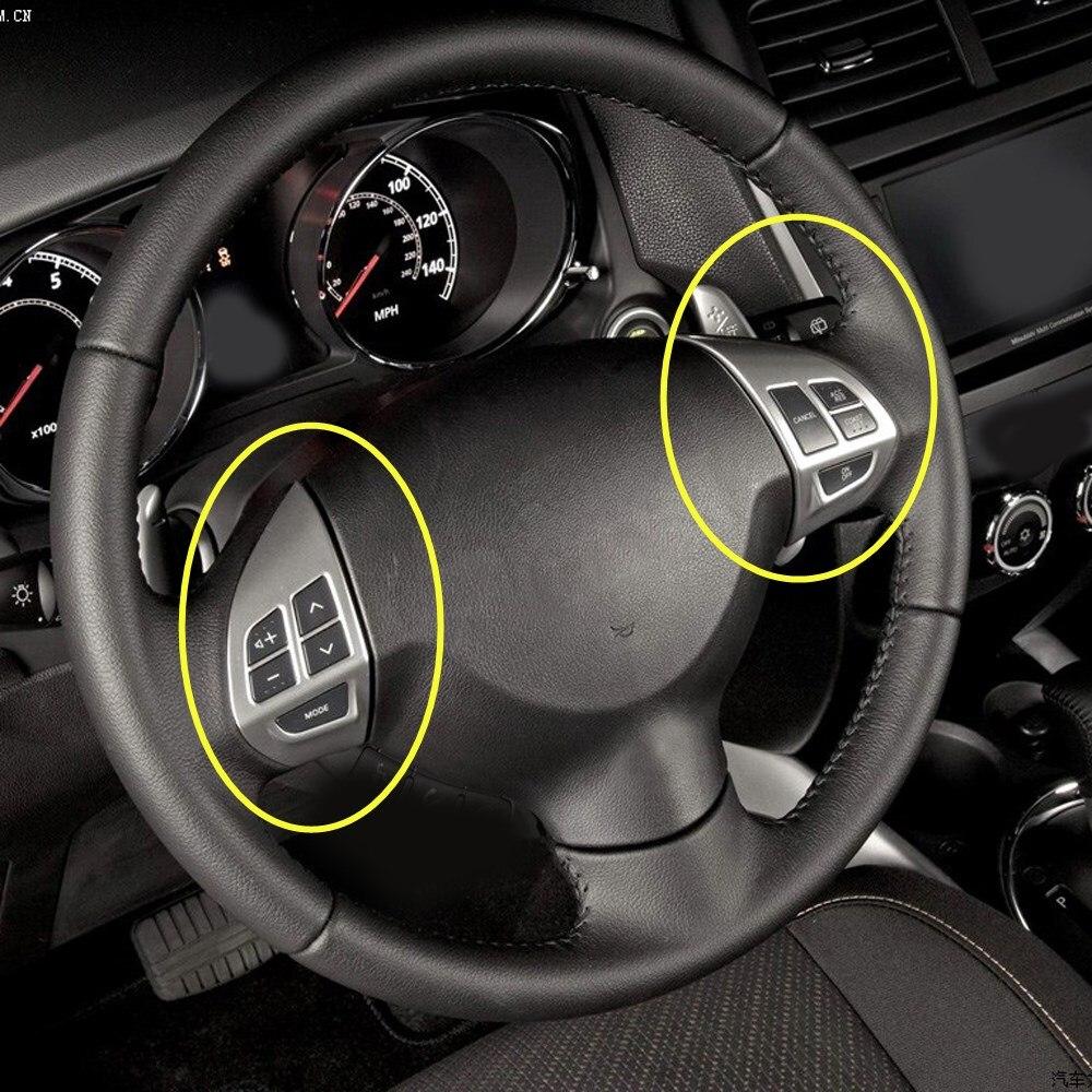 Boutons de style de voiture pour Peugeot Citroen c-crosser boutons de commande de volant de voiture multifonctions avec câbles