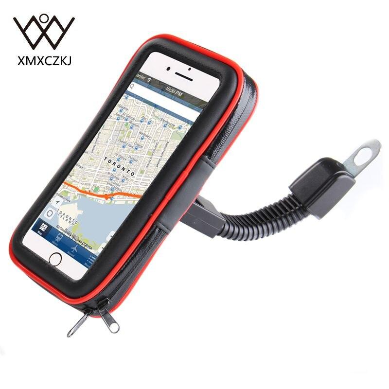 Motorcycle Bike Handlebar Holder Mount Waterproof Bag Case For Cellphone GPS HOT