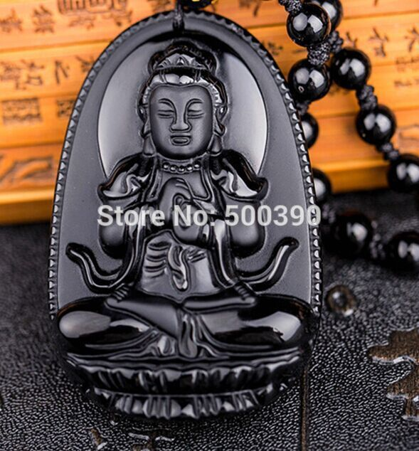 Natural mexico black yao jade kwan yin pendant carved amulet 2241 natural mexico black yao jade kwan yin pendant carved amulet 2241 in wind chimes hanging decorations from home garden on aliexpress alibaba group aloadofball Images
