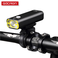Gaciron Bicycle Headlight Bike LED Lamp Front Light 400 Lumens 18650 Battery Rechargeable Flashlight