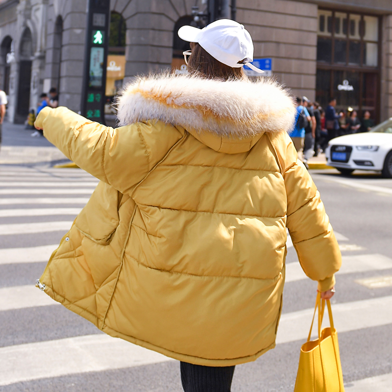 Hot Sale Womens Boy Loose Plus Sizes Parka Warm Winter Hooded Bread Coats Jacket