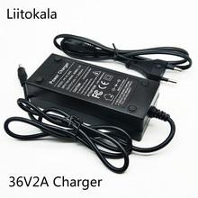 HK LiitoKala Real 36V 29.4V 25.2V 48V 12.6V 2A batterie chargeur 18650