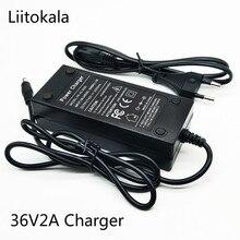 HK LiitoKala Real 36V 29.4V 25.2V 48V 12.6V 2A battery pack 18650 charger