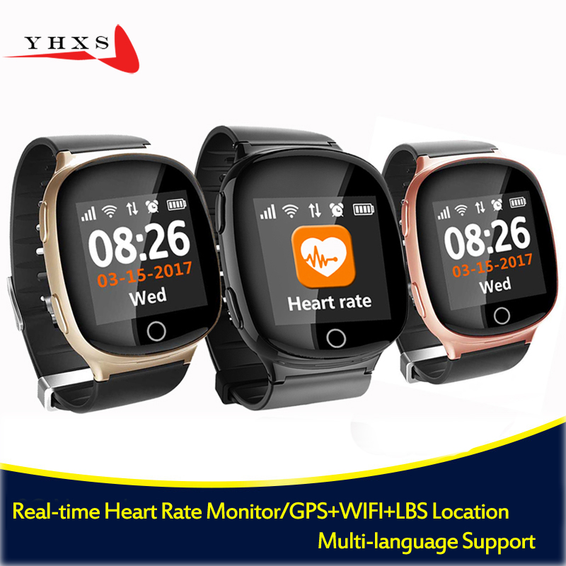 Smart GPS LBS Wifi Tracker Position for Elderly Man Child Wristwatch SOS Call Safe Anti-Lost Remote Heart Rate Monitoring Watch поясная сумочка ula поясная сумочка